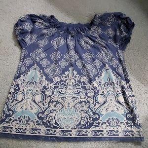 Woman size Petite Lg short sleeve shirt
